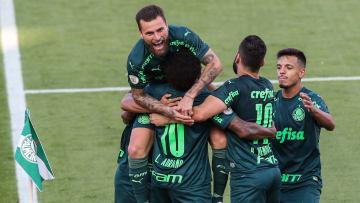 Luiz Adriano, Bruno Henrique, Rony, Lucas Lima, Gabriel Menino