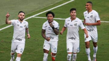 2020 Brasileirao Series A: Santos v Gremio Play Behind Closed Doors Amidst the Coronavirus (COVID -