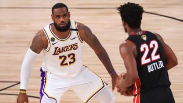 Lakers y Heat chocan por primera vez en la temporada