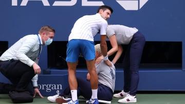 Novak Djokovic, 2020 US Open - Day 7