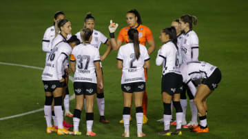 2020 Womens' Brasileirao A1: Corinthians v Ferroviaria Play Behind Closed Doors Amidst the Coronavirus (COVID - 19) Pandemic