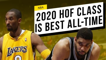 Never before has there been so much talent entering the basketball hall of fame at the same time.