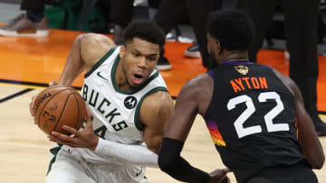 Giannis Antetokounmpo has an intriguing player prop in Game 6.
