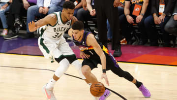 Game 3 should be a scoring battle between Booker and Antetokounmpo.