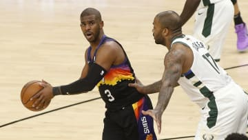 Chris Paul has bee dominant in the NBA Finals.