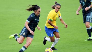 Seleção Brasileira Feminina encara a Argentina para amistosos