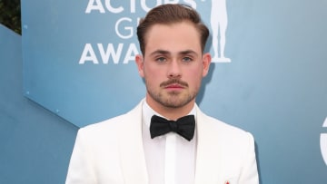 Fan art turns 'Stranger Things' actor Dacre Montgomery into Marvel's Human Torch.
