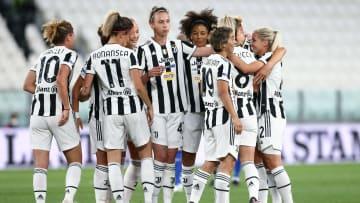 Uno scatto della Juventus Women Campione d'Italia