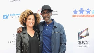 Don Cheadle and wife Brigid Coulter