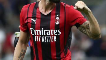 La maglia home del Milan