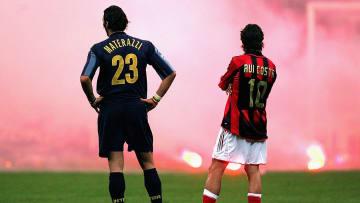 Rivalidade entre Inter de Milão e Milan pega fogo na Itália. Às vezes, literalmente.