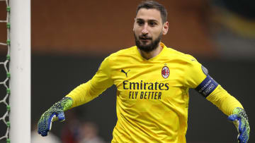 Gianluigi Donnarumma is yet to sign a new contract with AC Milan
