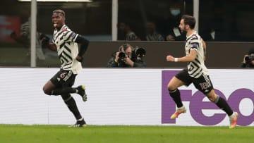 Paul Pogba schießt Man United gegen Milan ins Europa-League-Viertelfinale