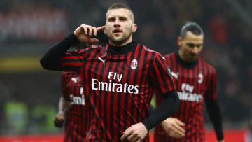 Ante Rebic is Milan's top scorer this season with 12 goals - despite barely featuring in the first half of the season