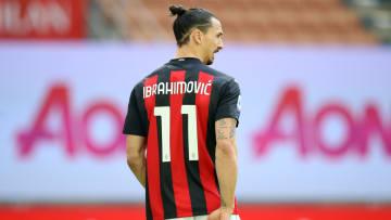 Zlatan Ibrahimovic is AC Milan's leading goalscorer this season