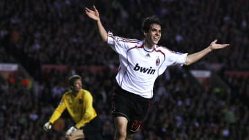AC Milan's Brazilian midfielder Ricardo...