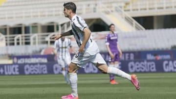 Selebrasi gol Alvaro Morata