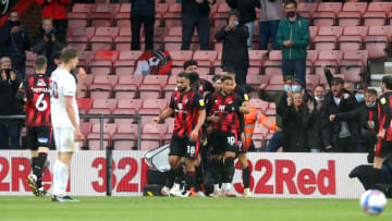 Bournemouth struck first against Brentford at the Vitality Stadium