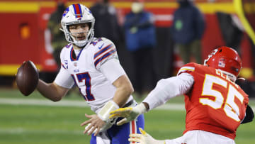 Josh Allen's Bills will be one of the Chiefs' biggest threats in the AFC.