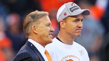 John Elway and Peyton Manning.
