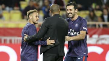 Neymar y Buffon