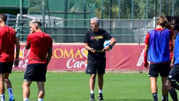 Mourinho a Trigoria