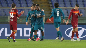 Rebic and Kessie scored for Milan on Sunday night