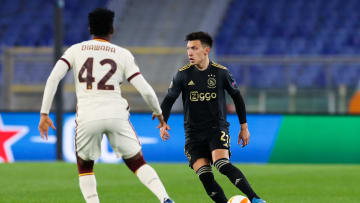 El Ajax no pudo contra la Roma en los cuartos de final de la Europa League