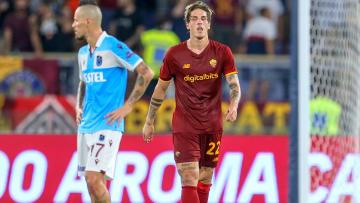 Nicolo Zaniolo'nun gol sevinci