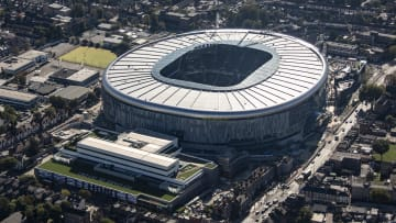 Aerial view of the New Home Stadium Of Tottenham Hotspur Football Club