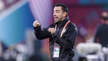 El futuro de Xavi como entrenador está en el Barcelona.
