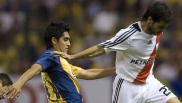América y River Plate se enfrentaron en la Copa Libertadores 2008.