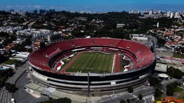 An Empty Sao Paulo During the Coronavirus (COVID - 19) Pandemic