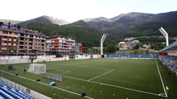 Andorra's playing surface has been heavily criticised