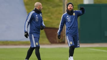 Javier Mascherano has insisted that there has been no dip in the form of Lionel Messi from last season