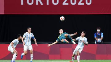 Argentina v Australia: Men's Football - Olympics: Day -1 - Argentina failed in their debut against Australia.