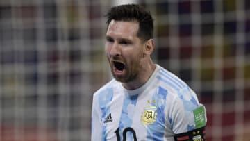 El grito de gol de Messi