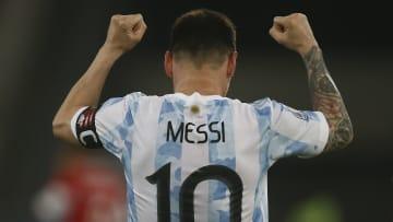 Leo Messi, Argentina