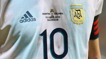 La camiseta de la última Copa América disputada en Brasil