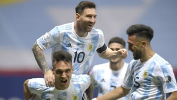 Messi is hoping to win a major trophy in Argentina colours