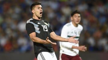 Giovanni Simeone nació en España pero juega para la selección argentina