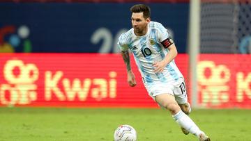 Messi tem o overall mais alto do FIFA 21   Argentina v Paraguay: Group A - Copa America Brazil 2021
