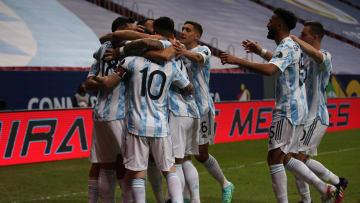 Argentina mengalahkan Uruguay dengan skor 1-0