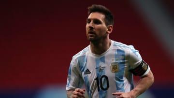 La star de l'Argentine, Lionel Messi