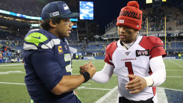 Kyler Murray and Russell Wilson