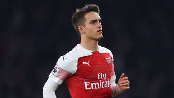 Denis Suarez spent six months on loan with Arsenal