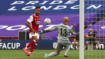 Pierre-Emerick Aubameyang, Willy Caballero