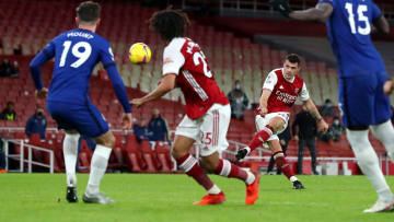 Arsenal defeated Chelsea 3-1 when the pair met earlier this season