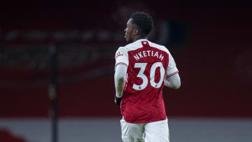 Nketiah looks set to stay at Arsenal