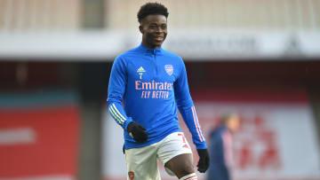 Bukayo Saka helped Arsenal's move for Ben White